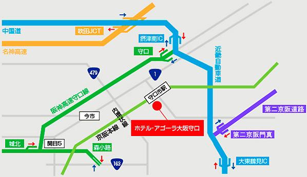 広域マップ(車)